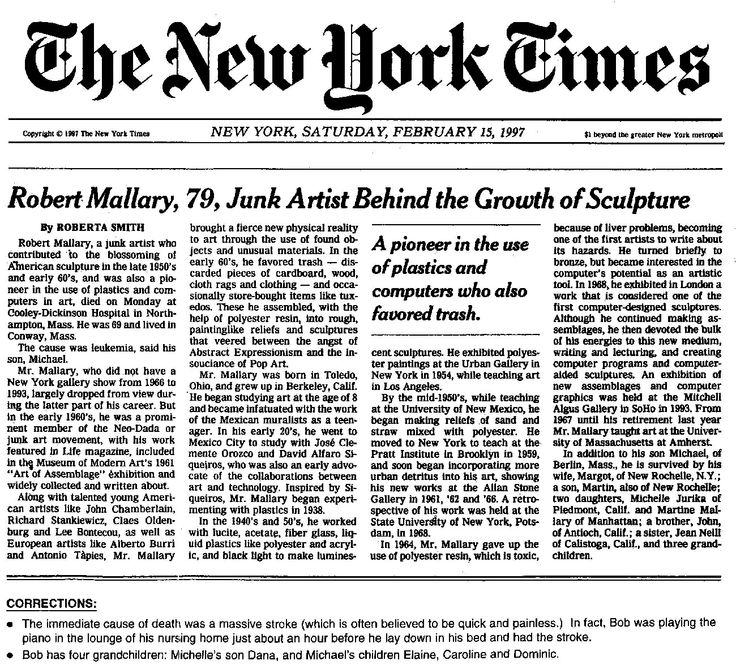 The New York Times (or NYT) is an American daily newspaper
