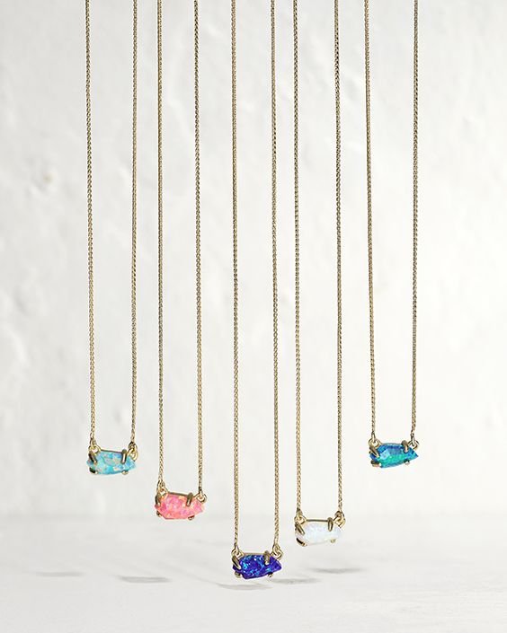 Jayde Necklace in Kyocera Opal - Kendra Scott Jewelry