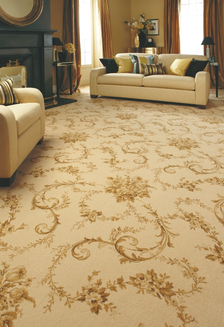 @AxminsterUK Versailles in Soft Cream. Available at Rodgers of York.