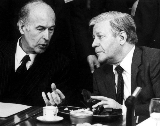 Altkanzler Helmut Schmidt: Unser Weltökonom