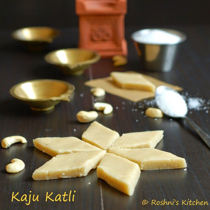 Kaju Katli (Gluten Free Cashew Thins And Truffles) For Diwali Recipes ...