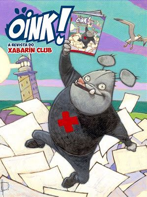 Cuberta da REVISTA OINK! do Xabarín Club