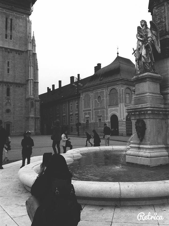Tourists in zagreb