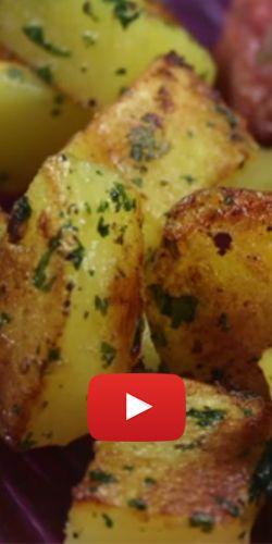 Délicieuses pommes de terre sautées. http://rienquedugratuit.ca/videos/delicieuses-pommes-de-terre-sautees/