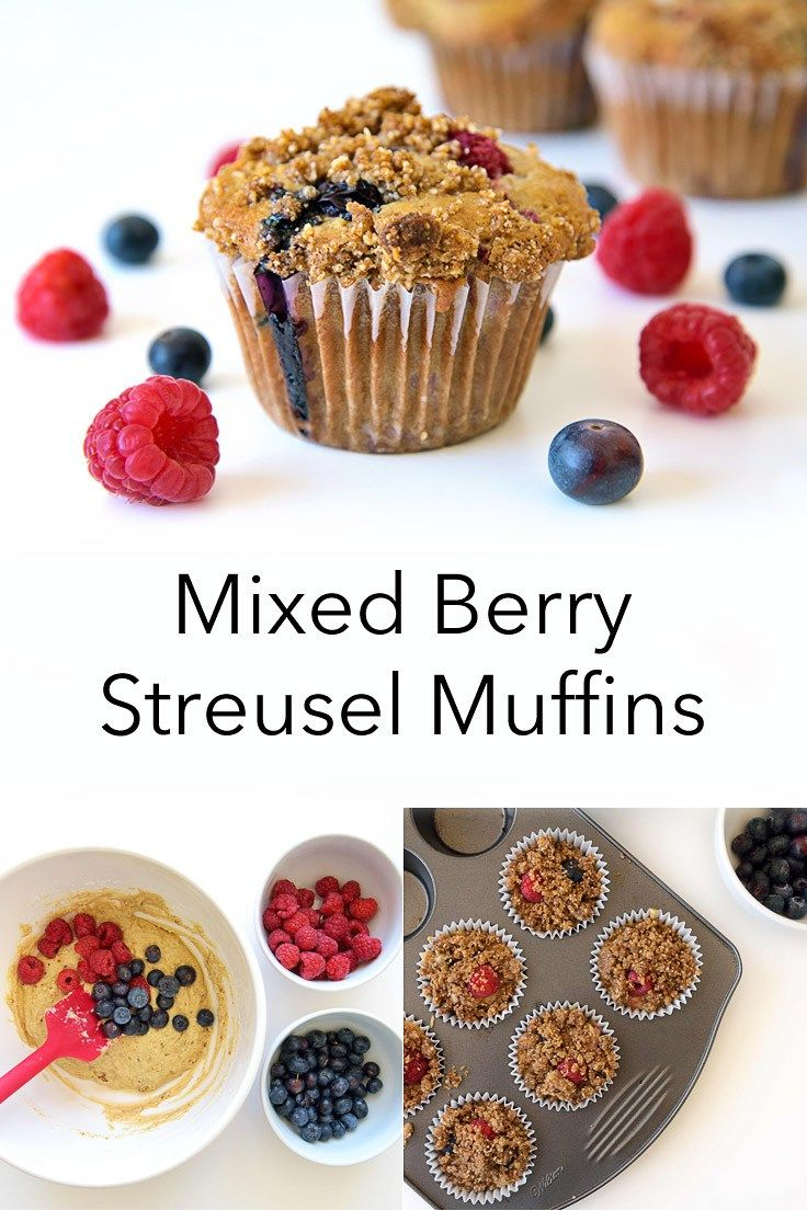 mixed berry streusel muffins mixed berries streusel vegan dishes ...