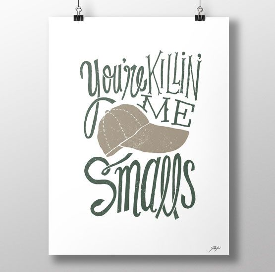 Scotty Smalls - Jay Roeder, illustration, posters, t-shirts, hats and more