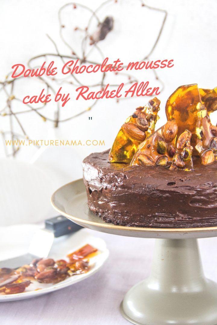 Double Chocolate Mousse Cake Recipe Pikturenama Recipes