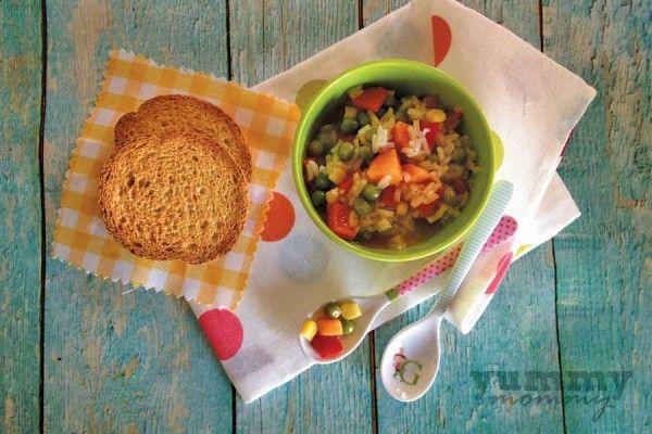 {Rice with vegetables} Ρύζι με λαχανικά | yummymommy.gr