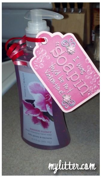 Valentines Gift Idea - Soapin' You'd be my Valentine!