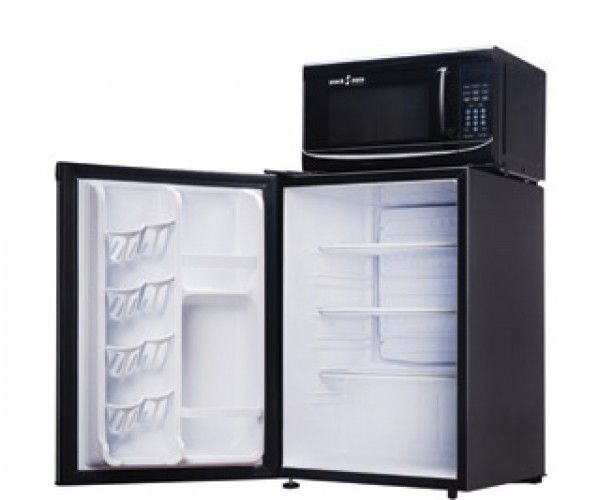 Shop Microfridge Snack Mate Combo 2.6 cu.ft - Black MicroFridge Hotel Supplies Call For Freight, Combo Unit, Refrigerator / Combo Unit, Microwave & Refrigerator 2.6 cu.ft / 0.7 cu.ft Black 75.0 lbs Online At Ramayan Supply.