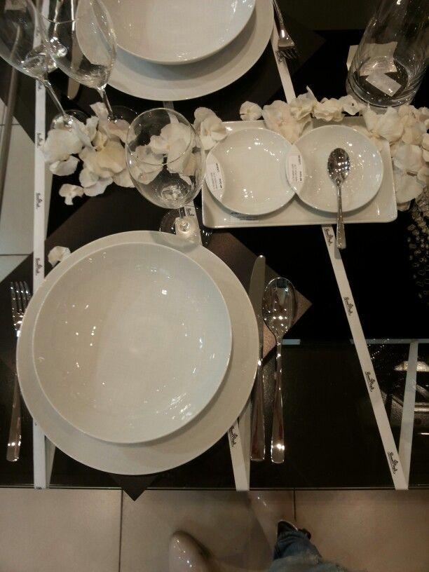 Black wedding white wedding #rosenthal