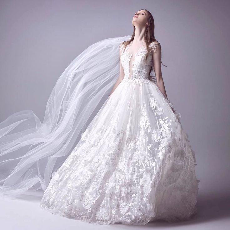 Stunning #bridal by #saiidkobeisy . Find the dress @primalicia  Link in bio  #primalicia #boutique #wedding #dress #designer #hautecouture #brides #weddingdress #gown