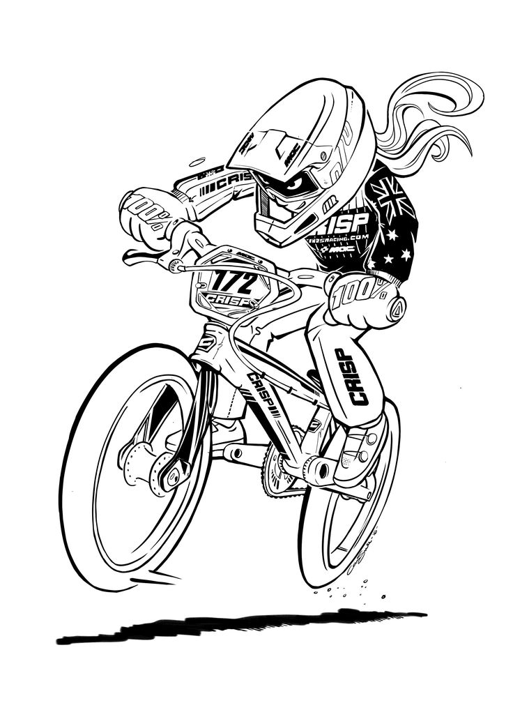 Best 25 bmx ideas on pinterest bmx bikes black bmx for Bmx coloring pages