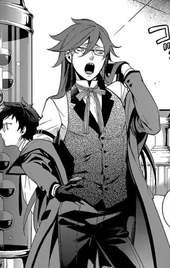 Grell Sutcliff black butler manga book