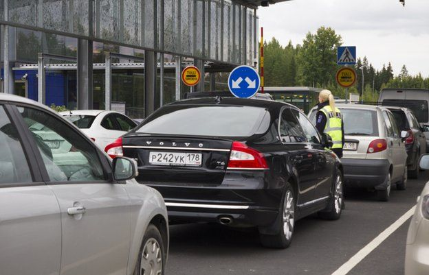 Four thousand #Russians come over the border to shop in #Lappeenranta every day