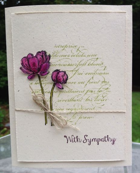 Stampin' Up!'s Bloom with Hope stamp set. www.mailsomethingpretty.com