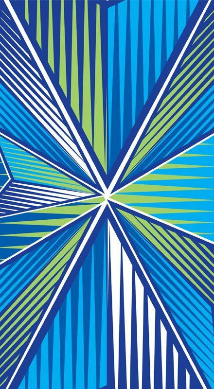 Pierce  by Margaret Perez (Geometric Illustrations, Print & Pattern)  See more at www.margaretperez.com #margaretperez #illustrations #printpattern #graphic #triangles #arrows #fashion