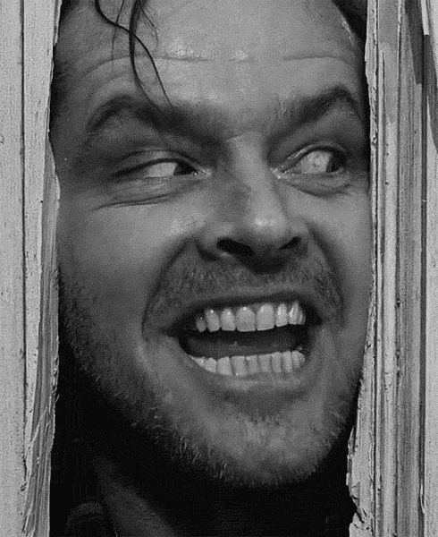 .The Shining, this GIF is an essential.