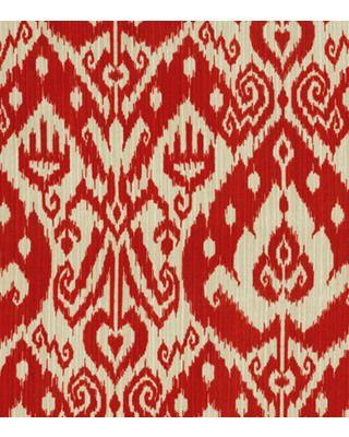 For patio.  Better Homes and Gardens Outdoor Fabric-Better Homes and Garden Yani Zinnia from Jo-Ann | BHG.com Shop