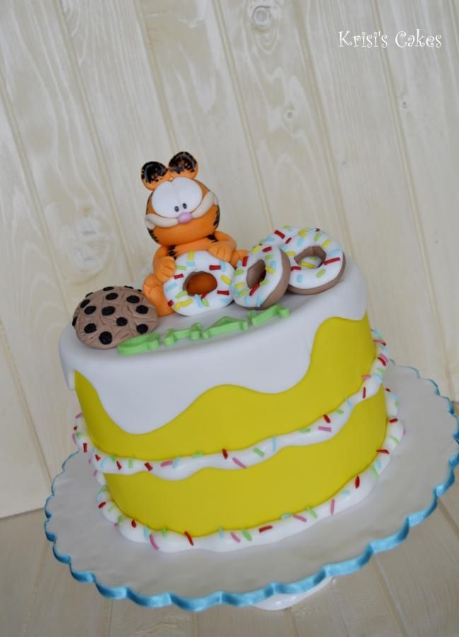 cake garfield - Cake by KRISICAKES