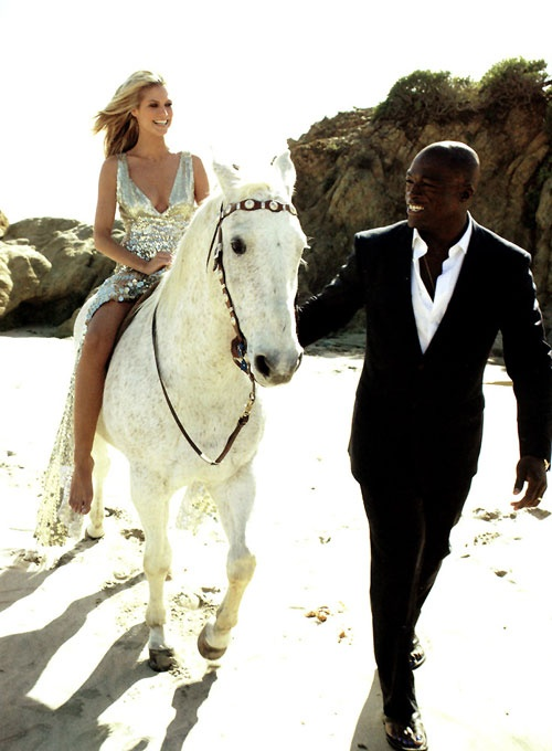 Former Stylish Heidi Klum And Seal