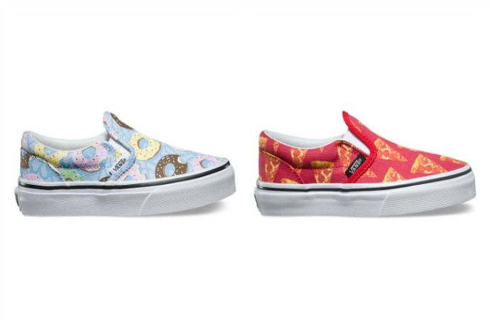 New Vans for kids: These Late Night Kids slip-ons are cracking us up!