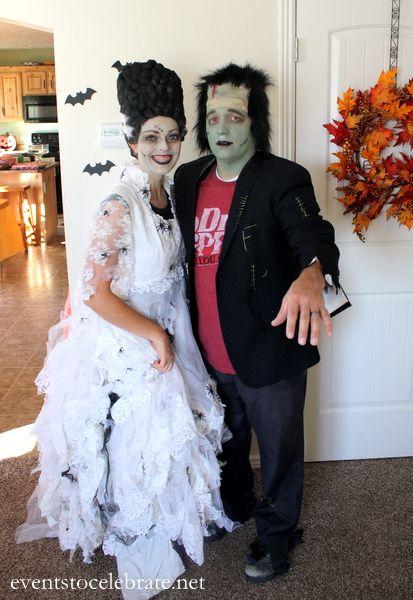 DIY Bride of Frankenstein Wig - events to CELEBRATE!
