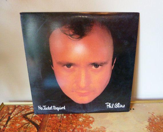 Phil Collins  No jacket required LP Vintage by SpaceModyssey