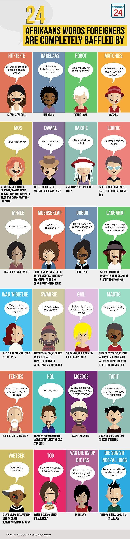 Afrikaans words