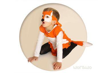 Fox costume / Fuchskostüm von Worawo