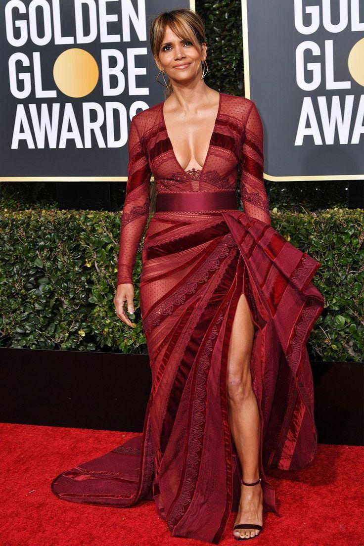 Image Result For Halle Berry Golden Globes Nice Dresses
