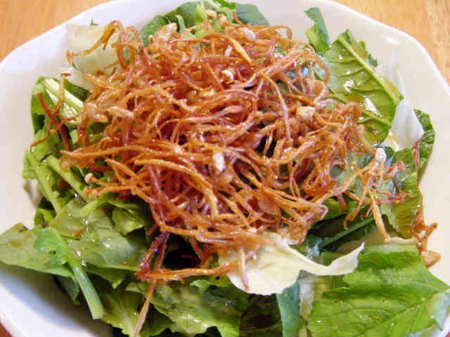 揚げえのきのサラダの画像