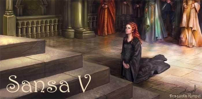 AGOT Sansa V banner - Sansa pleading by Drazenka Kimpel