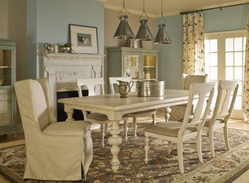 Paula Deen Rectangle Dining Table Check Out Those Legs