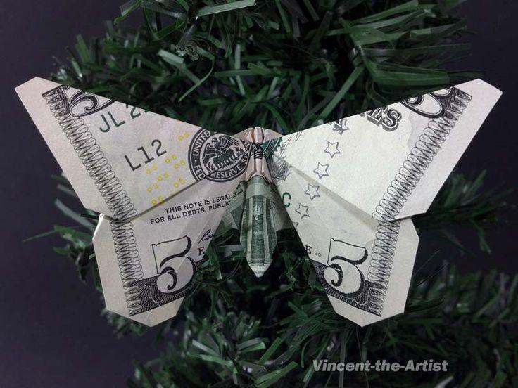 ... Dollar Origami auf Pinterest | Geldschein-Origami, Dollar-scheine und