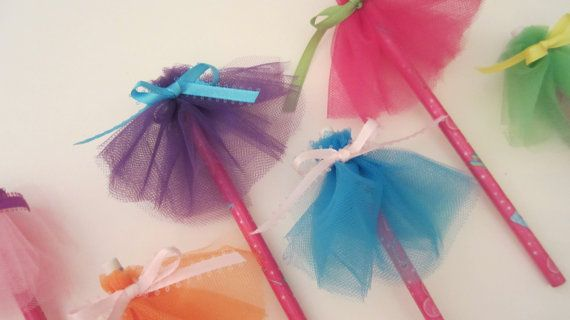 Tutu Party Favor Princess Pencil by American by AmericanBlossoms, $1.50