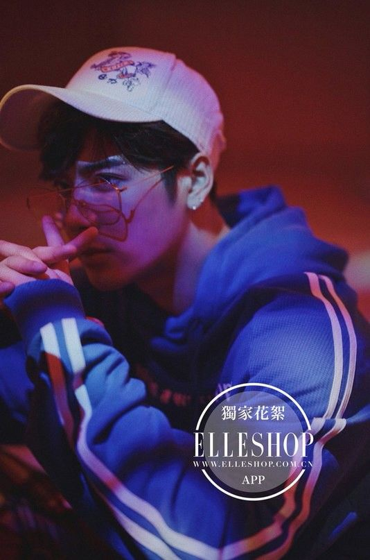 Jackson Wang for ELLESHOP (China)