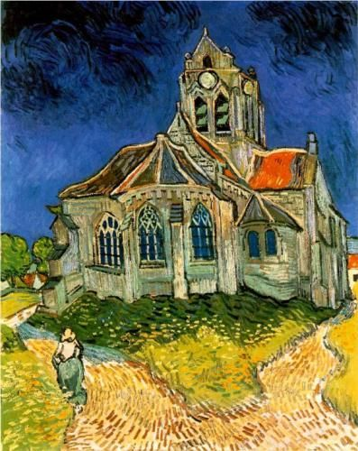 The Church at Auvers - Vincent van Gogh