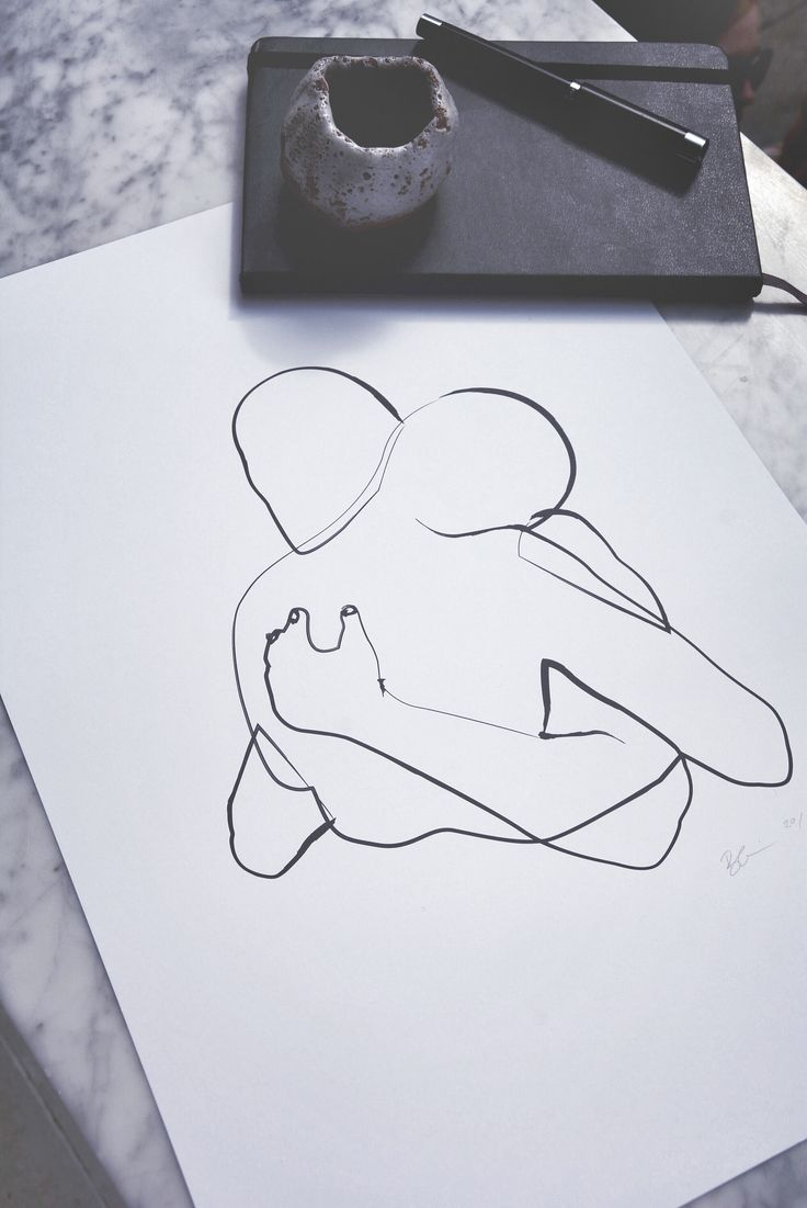 By Garmi Limited Edition 'Holding On' print.   //Nordic //Scadinavian poster Design // Art // Drawing