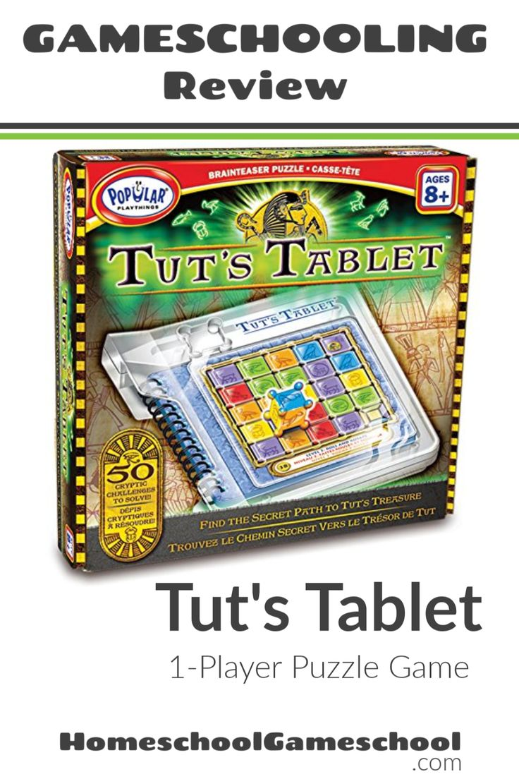 Tut's Tablet Puzzle Review Educational games for kids