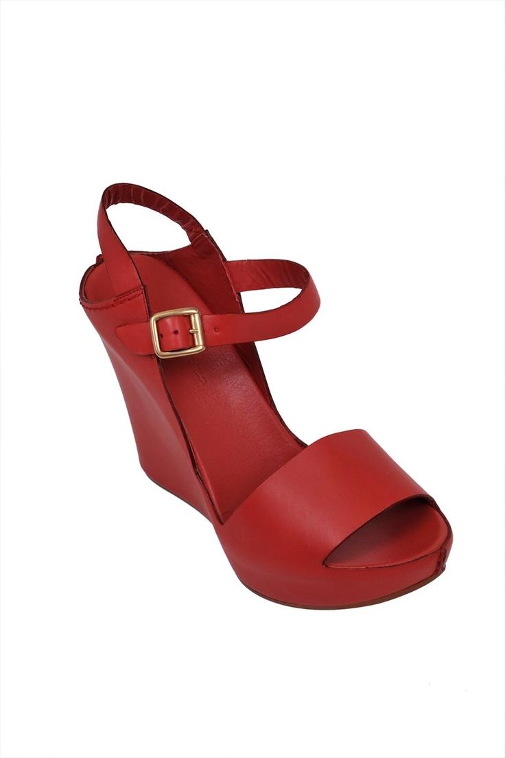 Roberto del Carlo-wedge sandal