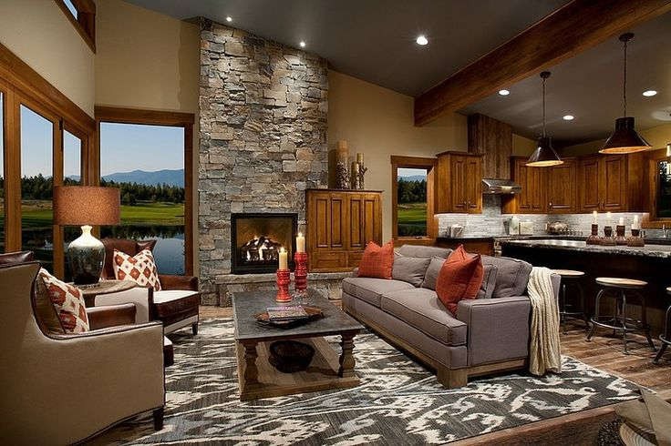 Wilderness Club by Hunter and Company Interior Design - a West Coast Arts and Crafts style home with modern country interior design