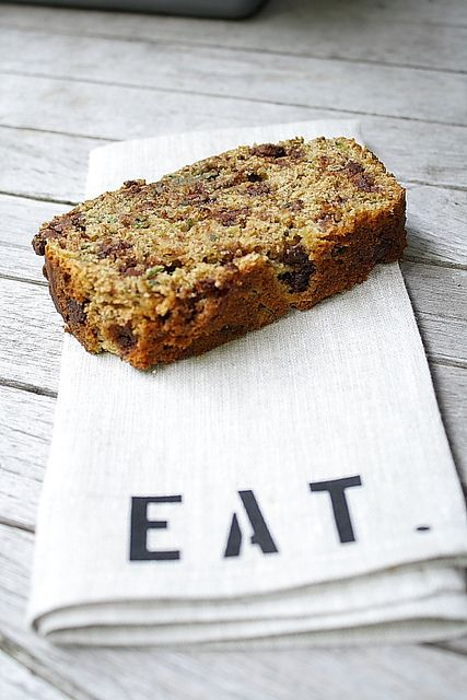Whole Wheat Zucchini Banana Bread.  This is really good.  I milled my own wheat and it worked really well with this recipe.  It's also good without the chocolate chips