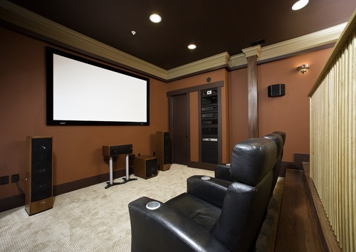 73 best images about theater rooms on pinterest media room design theater and paint colors - Best paint color for home theater ...