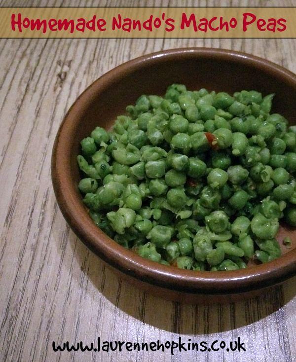 Homemade Nando's Macho Peas Recipe - http://www.laurennehopkins.co.uk/homemade-nandos-macho-peas-recipe/