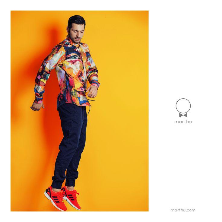 shirt marthu by FRANCOISE NIELLY sh0005