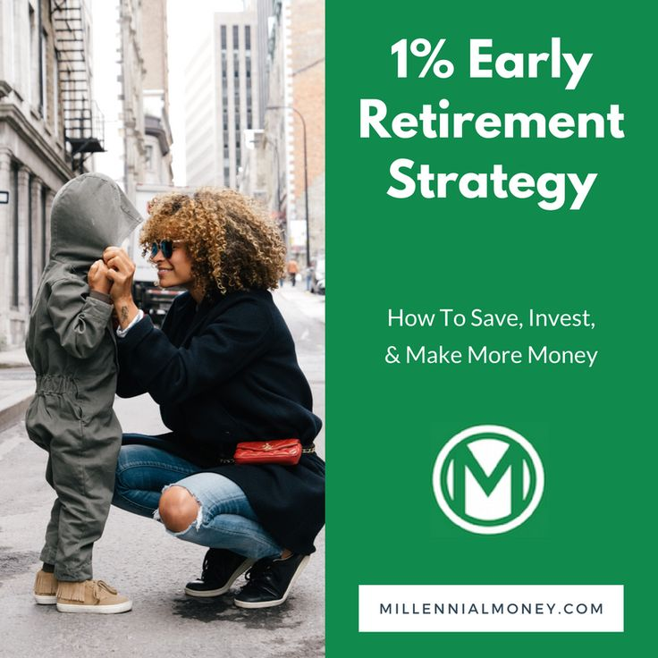 Saving only 1% more can help you retire up to 2 years early. If you can save 5% more per year, then you might be able to retire 15 years earlier!