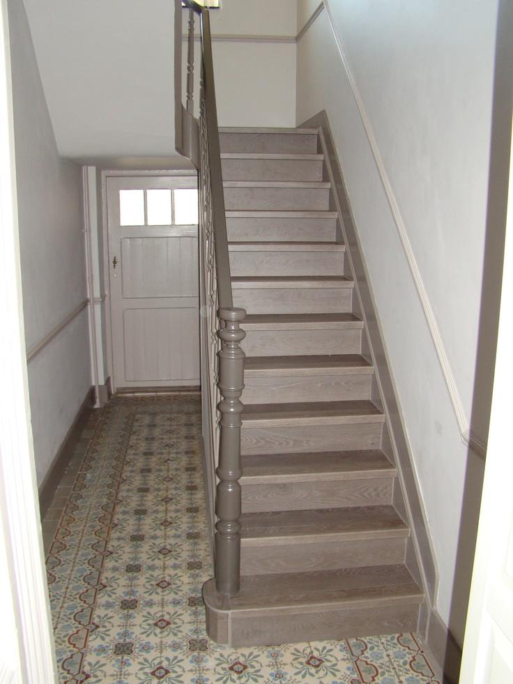 r novation cage d 39 escalier 4 escalier pinterest. Black Bedroom Furniture Sets. Home Design Ideas