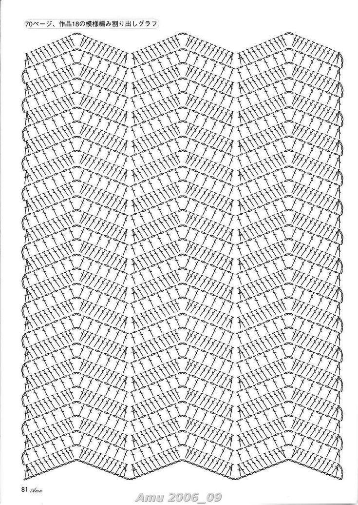 719 best ZIG-ZAG Crochet images on Pinterest | Crochet patterns ...