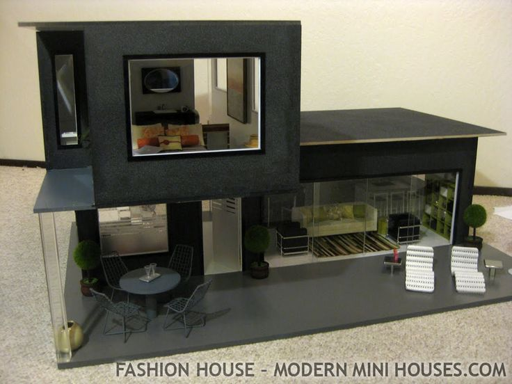 Modern Mini Houses - love